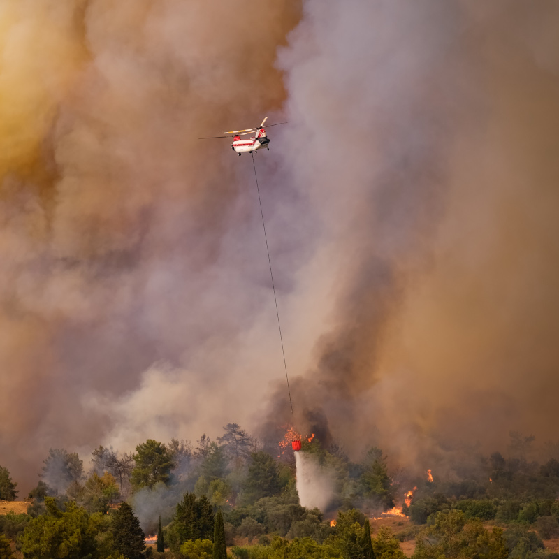 Columbia Helicopters Wins Turkey Firefighting Contract