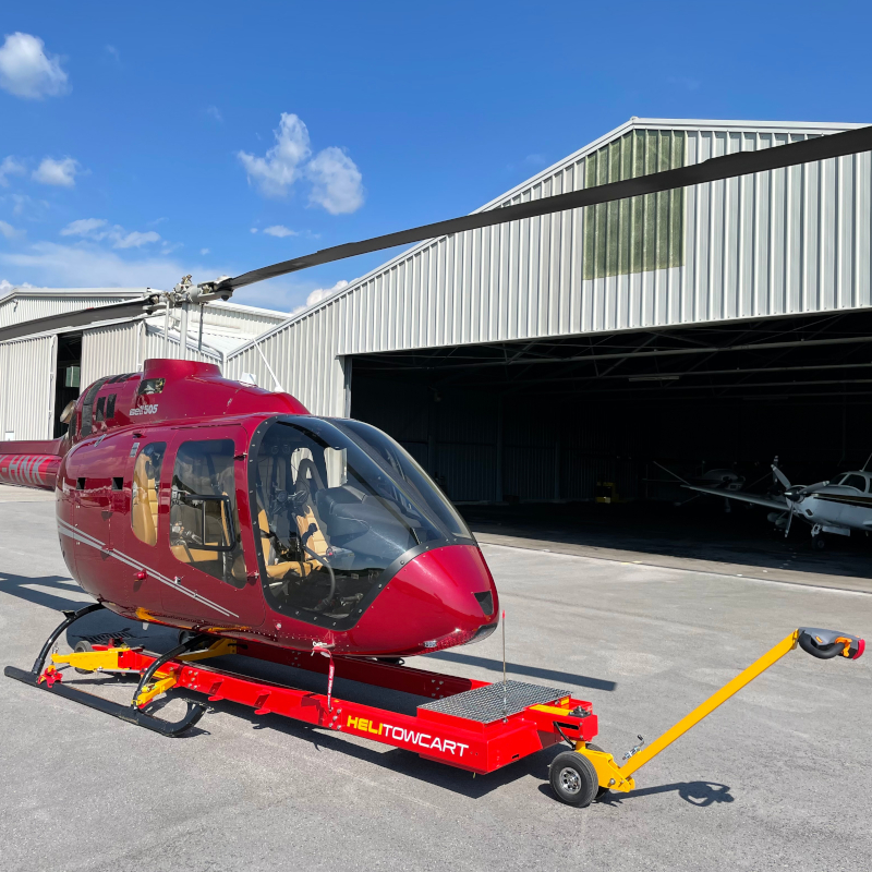 Helitowcart introduces handler for Bell 505