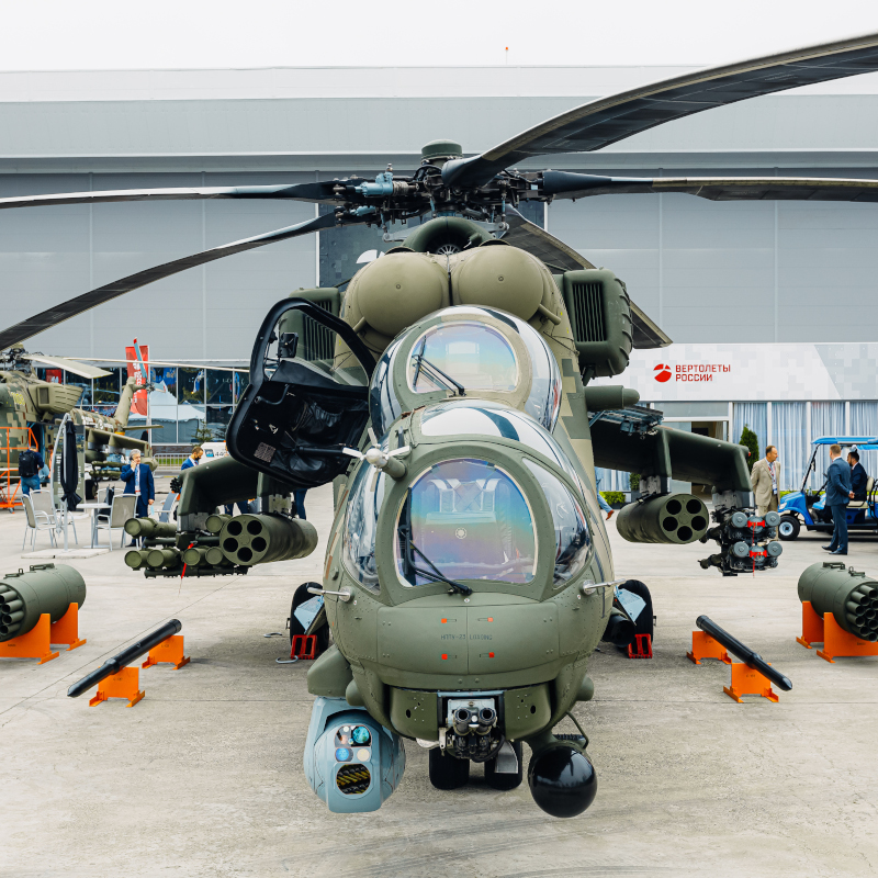 Russian Helicopters outlines their offering at Army 2021 show