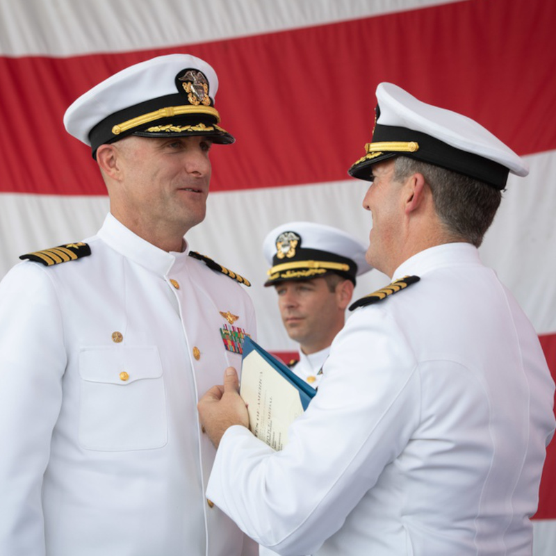 Helicopter Sea Combat Squadron 3 Changes Command