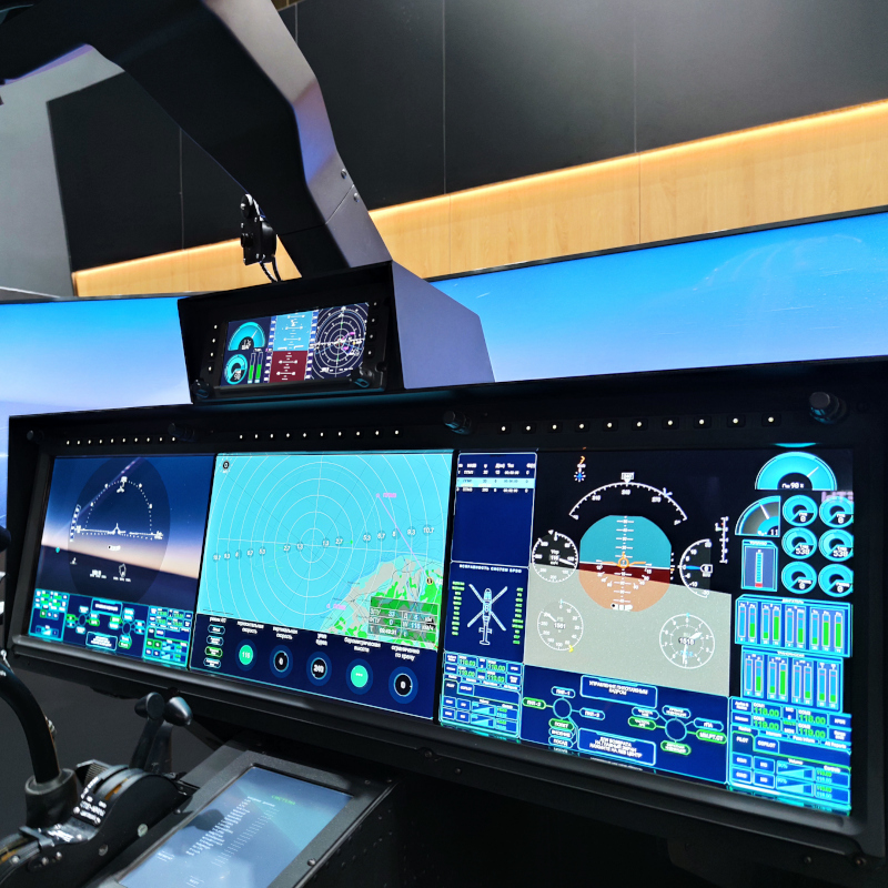 Russian Helicopters presents future cockpit concept at Army-2021 forum