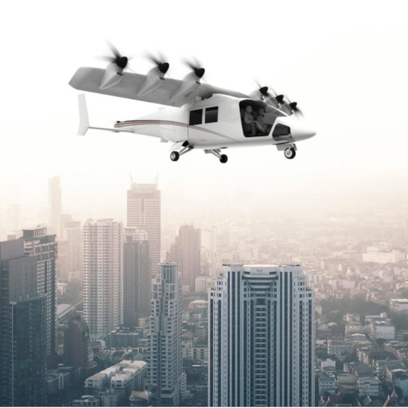 Dufour publishes spec of Aero3, its tilt-wing eVTOL