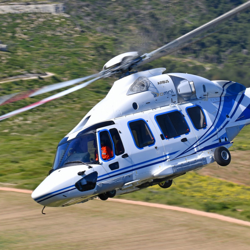 Omni adds four H175s for new Petrobras contract