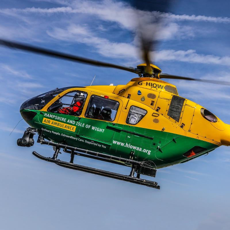 Hampshire & IOW Air Ambulance Trustee Chairman steps down