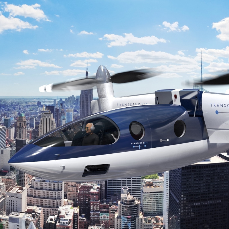 GE to supply engines for Transcend Air VTOL