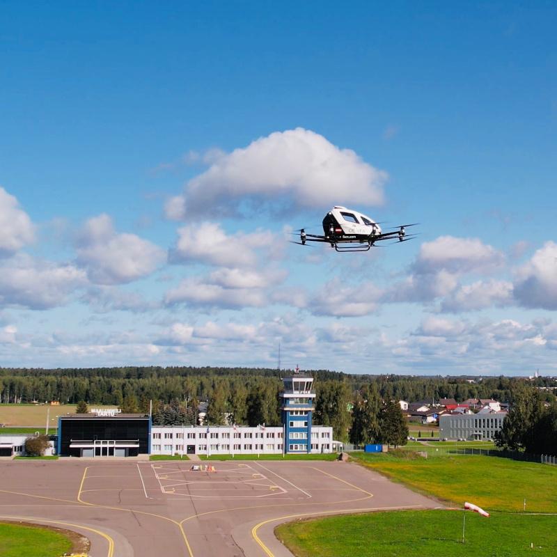EHang completes BVLOS testing in Estonia