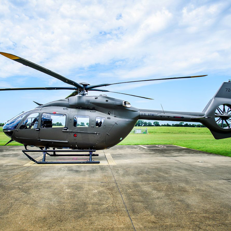 Airbus delivers first UH-72B Lakota to the US Army National Guard