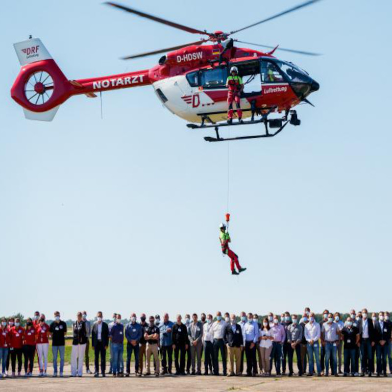 DRF holds its first Helicopter Hoist Operation symposium