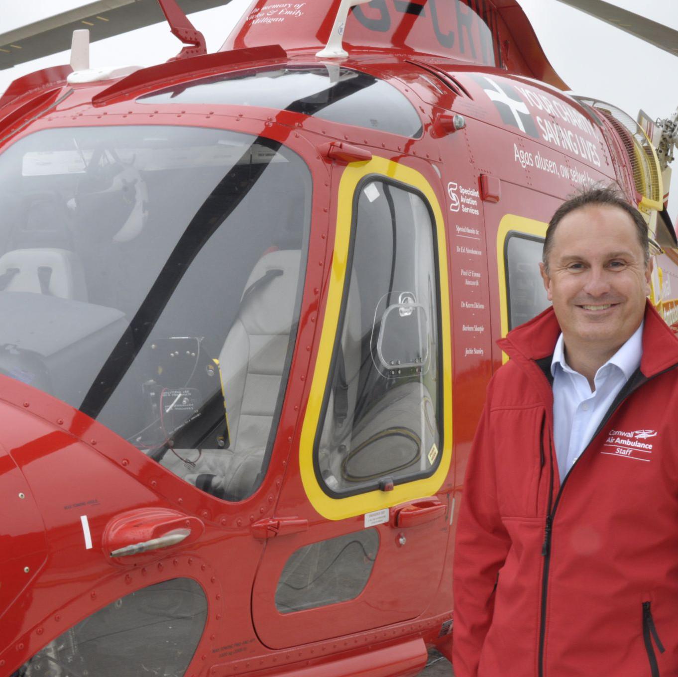 Cornwall Air Ambulance welcomes new CEO