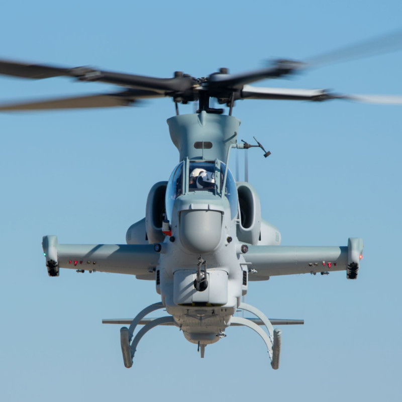 Bell Completes 100th consecutive On-Time Delivery of AH-1Z to US Marines