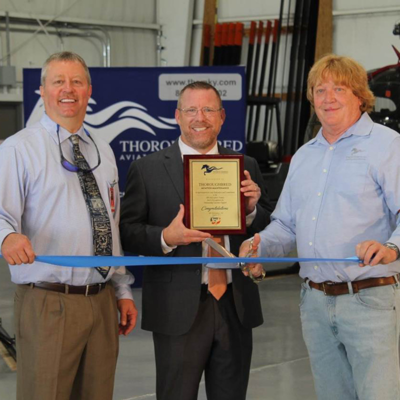 Thoroughbred Aviation Opens New Helicopter Maintenance Facility