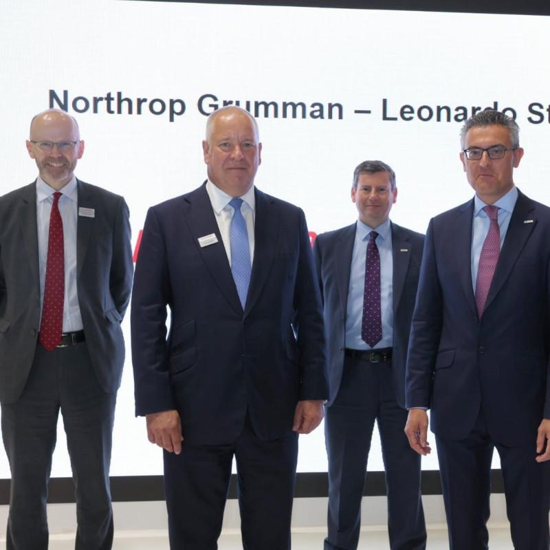 Leonardo and Northrop Grumman join forces on rotorcraft UAS opportunities