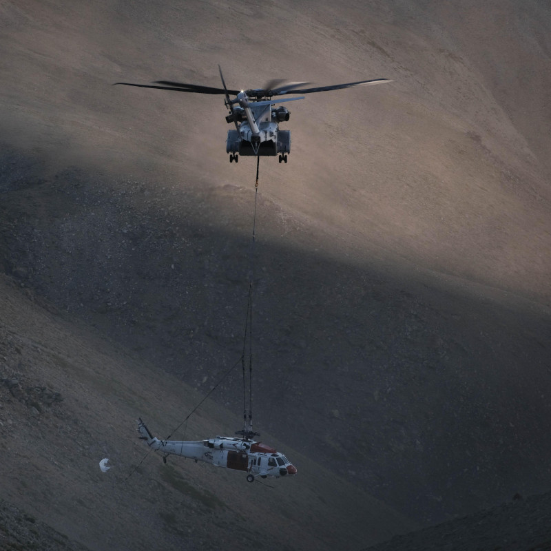 CH-53K King Stallion logs first successful fleet mission