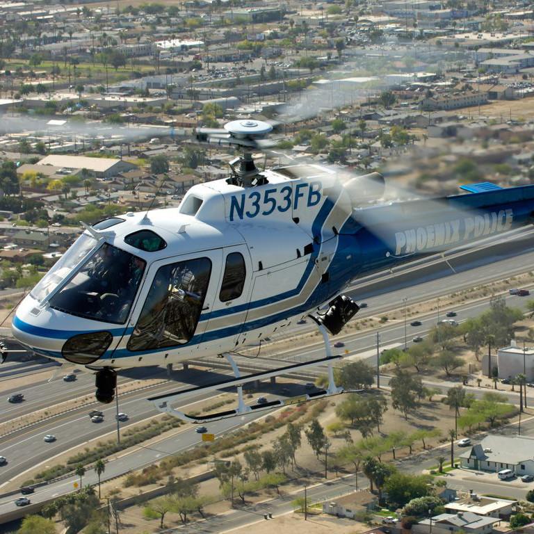 Phoenix Police Department to upgrade fleet with five new H125s