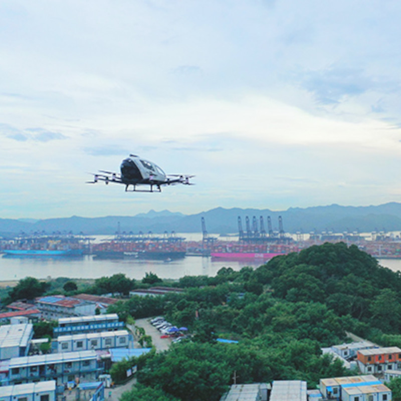 EHang partners with Heli-Eastern for ops in Shenzhen
