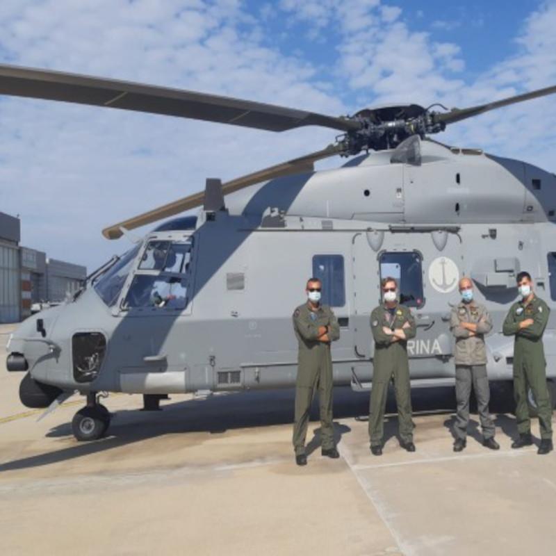 NHIndustries delivers last Italian Navy NH90 MITT