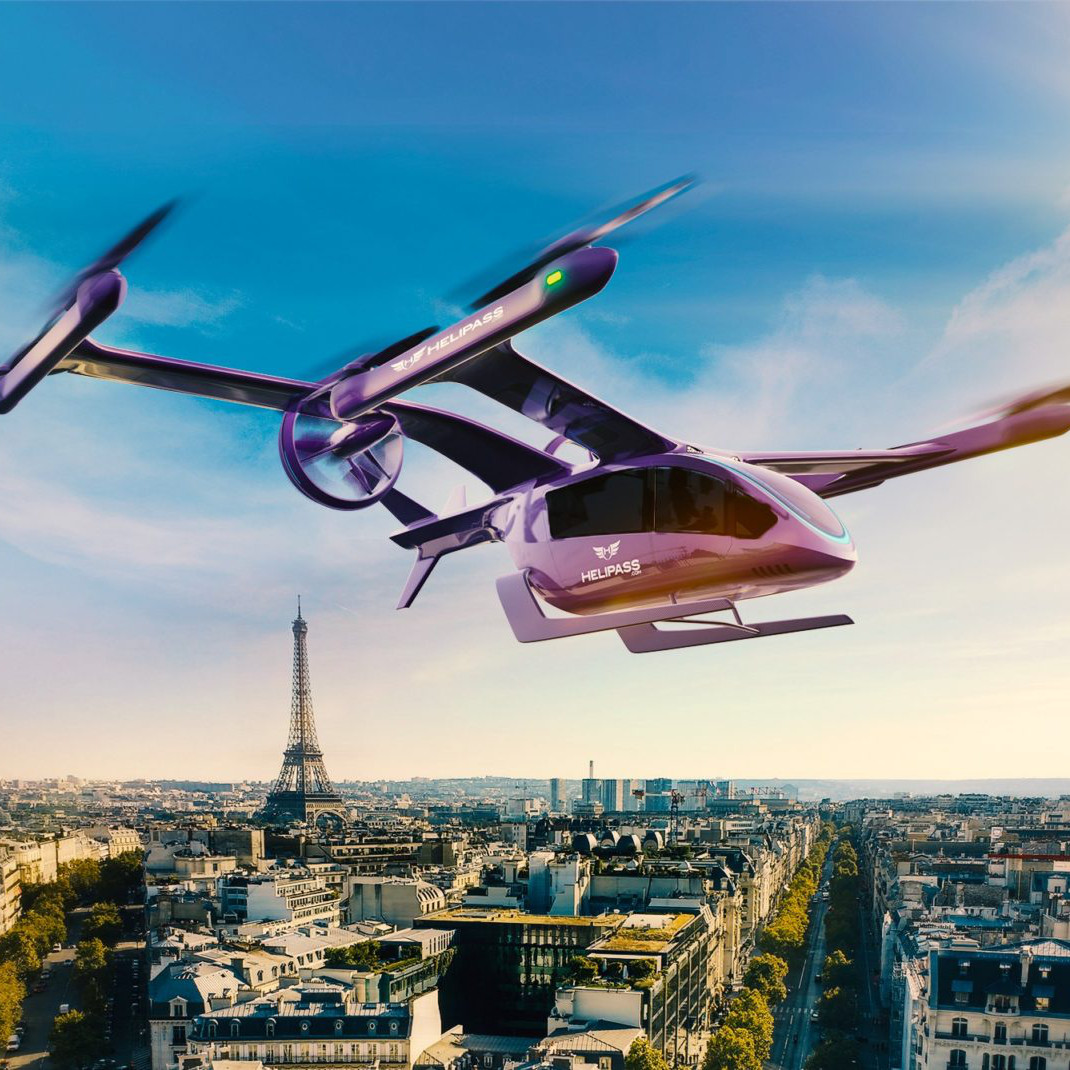 Embraer's Eve partners with Helipass to expand UAM ops in France