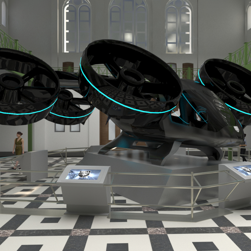 Bell to showcase Nexus Air Taxi at Smithsonian exhibition
