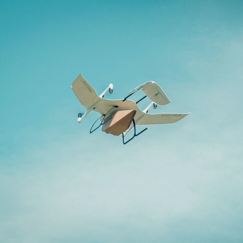 DRF tests blood delivery in Germany by drone