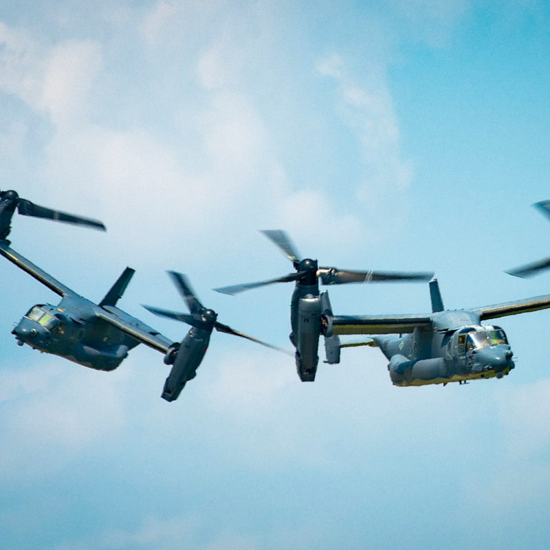 Bell Boeing begin Nacelle Improvements on US Air Force CV-22