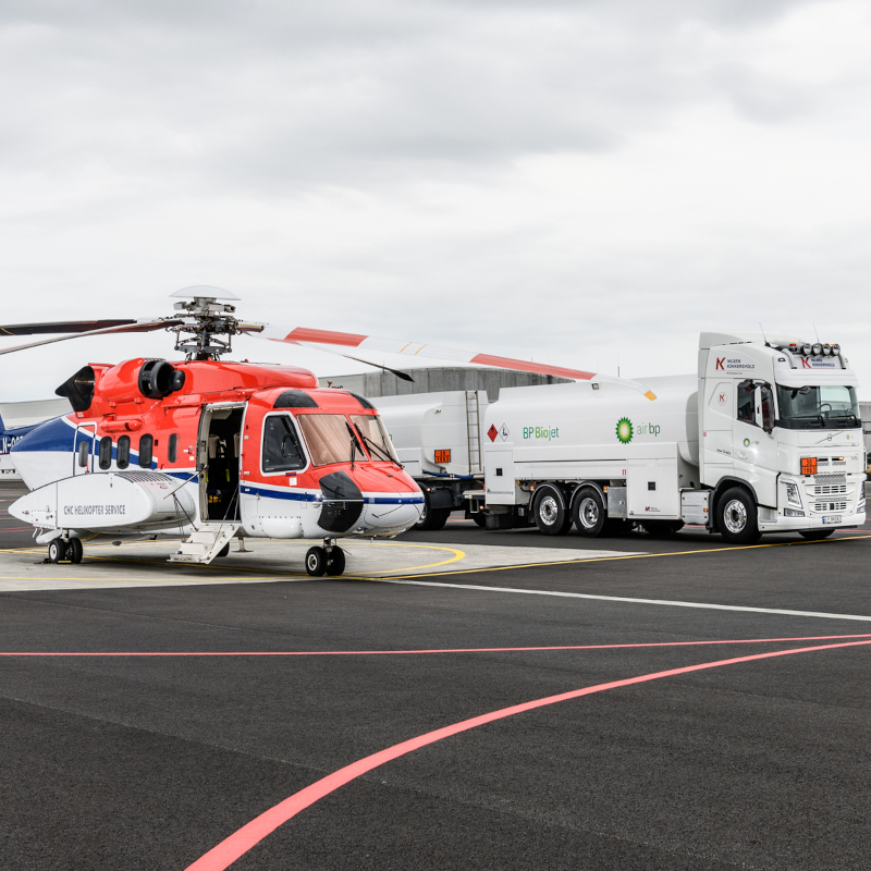 S-92® Completes First Flight Using Biofuel