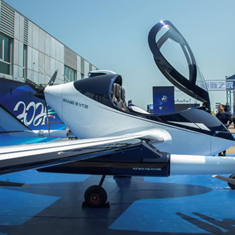 EHang long-range VT-30 AAV makes debut