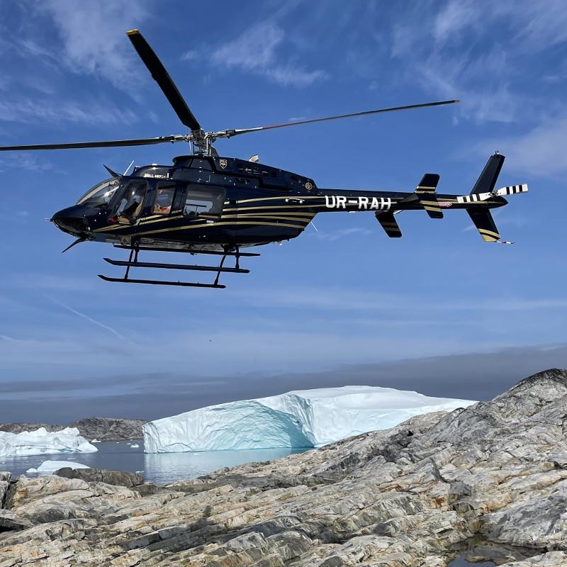 New Bell 407GXi Customer Takes Delivery by Undertaking Transatlantic Flight