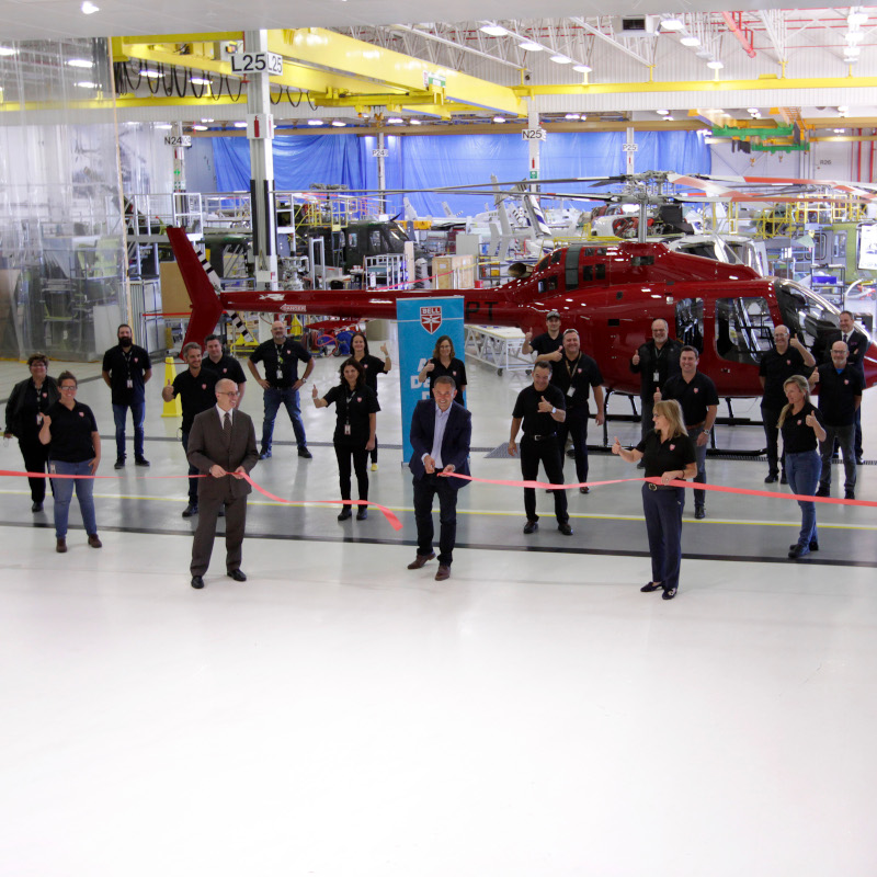 Bell Textron Canada Launches MRO Capability