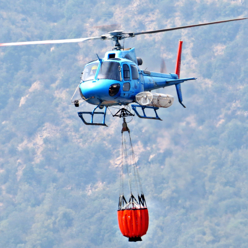 Ecocopter joins fleet to fight forest fires in Chile