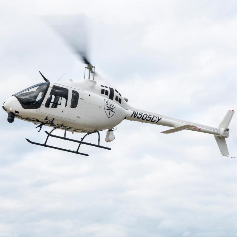 Nebraska State Patrol Adds Bell 505 Jet Ranger X
