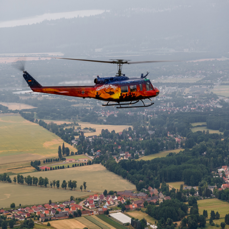 Bell Huey: A Legend Retires in Germany