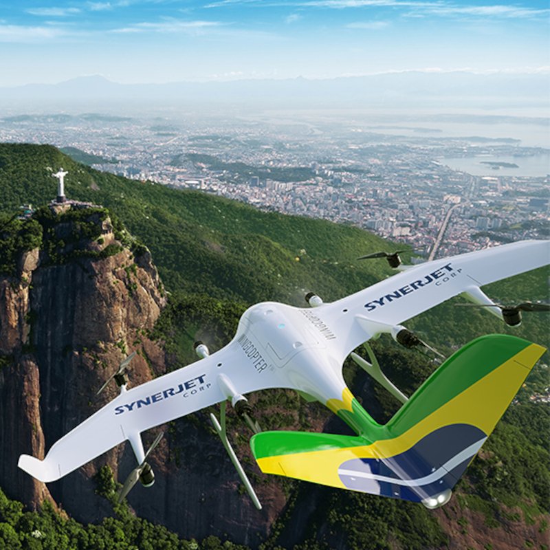 Synerjet becomes first Wingcopter partner in South America
