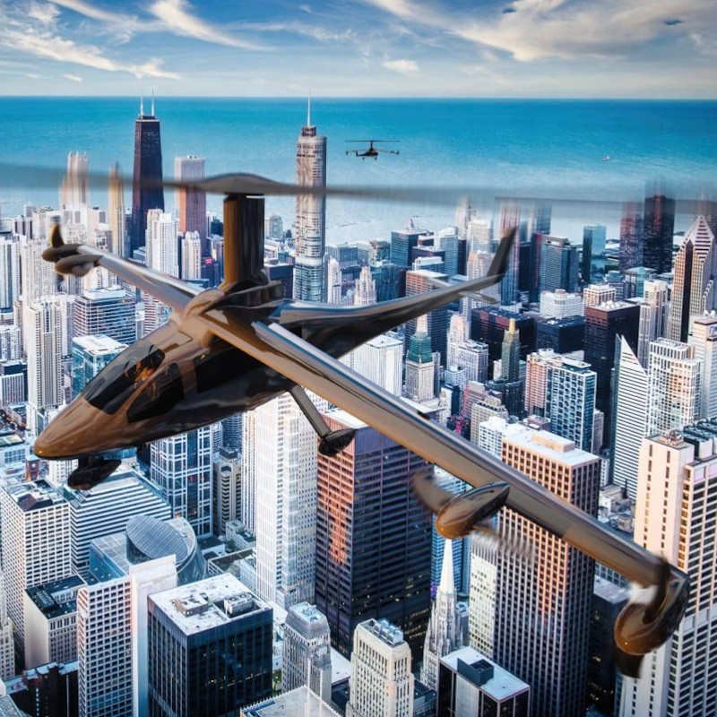 Jaunt Air Mobility Enters into Definitive Agreement to Join The AIRO G