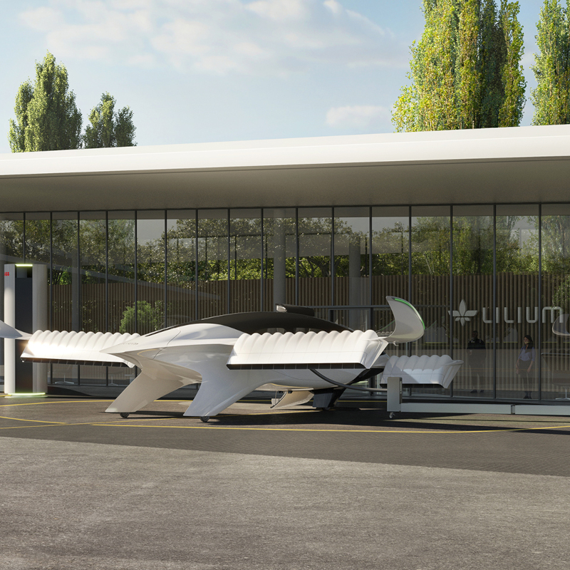 Lilium teams with ABB for eVTOL charging infrastructure