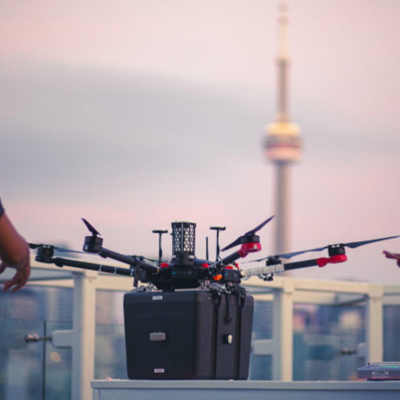 Unither Bioelectronics delivers donor lungs via drone