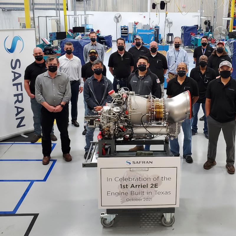 Safran begins assembly of Arriel 2E in US