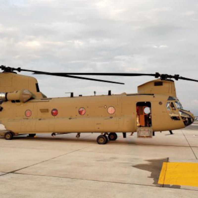 US Army AMCOM delivers two CH-47Fs to Australia