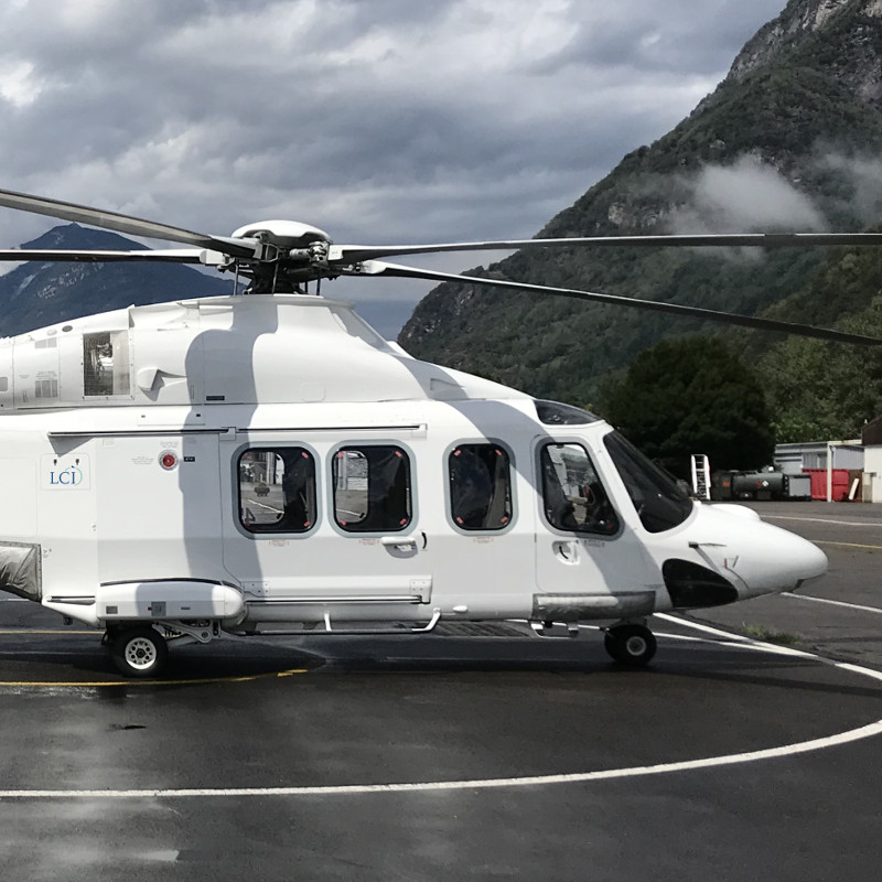 India – LCI delivers two AW139s to Heligo