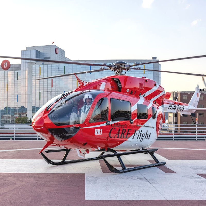 Childrens of Alabama upgrades from Bell 407 to Airbus EC145