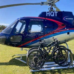 New Heli Biking experience lifts off from Greymouth for Coastwide Helicopters