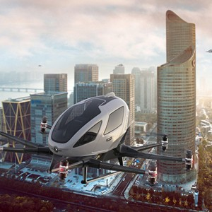 EHang joins European Union project to demo Urban Air Mobility