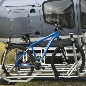 Oceania Aviation receives STC approval for Bell 429 Bike Rack