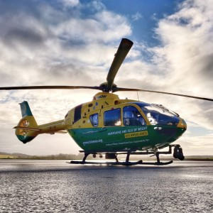 Hampshire and Isle of Wight Air Ambulance saw second busiest year on record in 2020