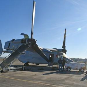 FRCE V-22 line sets personal best for Osprey turnaround time