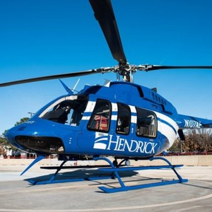 Air Evac Lifeteam Helicopter has a New Look