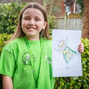 Children's Air Ambulance picks youngster's mascot design