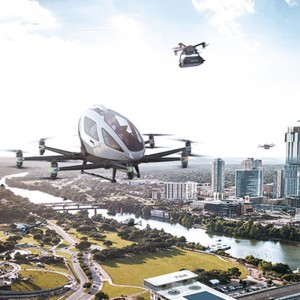 EHang Wins Urban Air Mobility Call from Paris