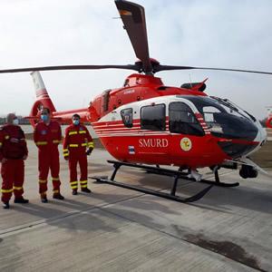 Romania receives three EMS Airbus H135s