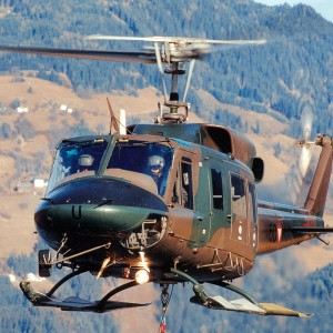 First two upgraded AB212s handed over to Austrian Army