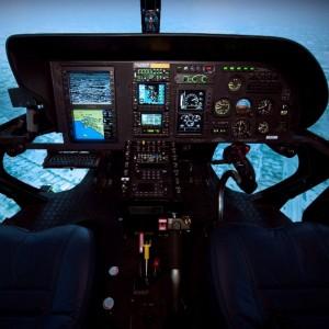 American Eurocopter AS350 full flight simulator certified by FAA